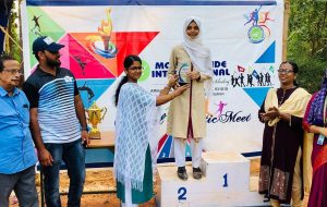 Fathimathul Lamiya Hashim, Individual Champion (Senior Girls), Annual Athletic Meet 2018