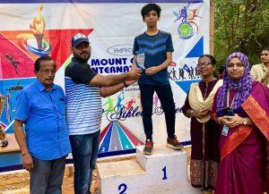 Muhammed Sinan, Individual Champion (Junior Boys), Annual Athletic Meet 2018