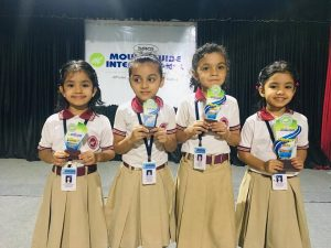 Winners of Handwriting Competition LKG
