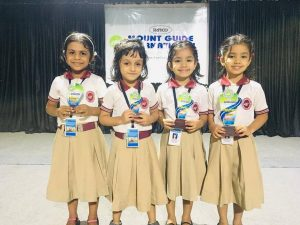 Winners of Hindi Action Song LKG
