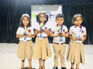 Winners of Hindi Action Song UKG