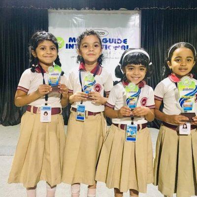 Winners of Kids Fest (KG Section)