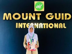 Minah M P, Grade IX, State Level Third Rank Holder for Second Level International Olympiad of Science 2019.