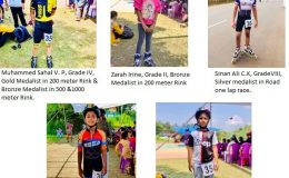 Kannur District Roller Skating Winners 2019-20