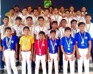 Champions of Annual Sports 2019