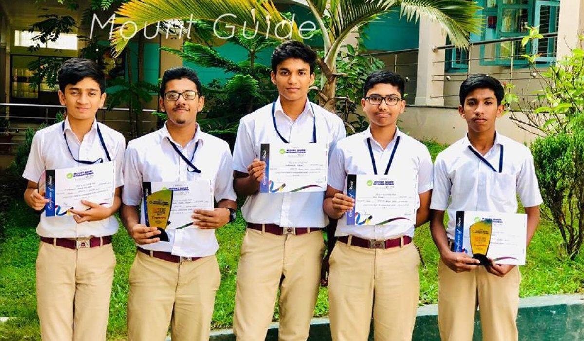 Winners of MGI Science Quiz 2018