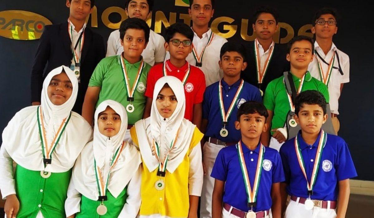 Taekwondo Winners of MGI