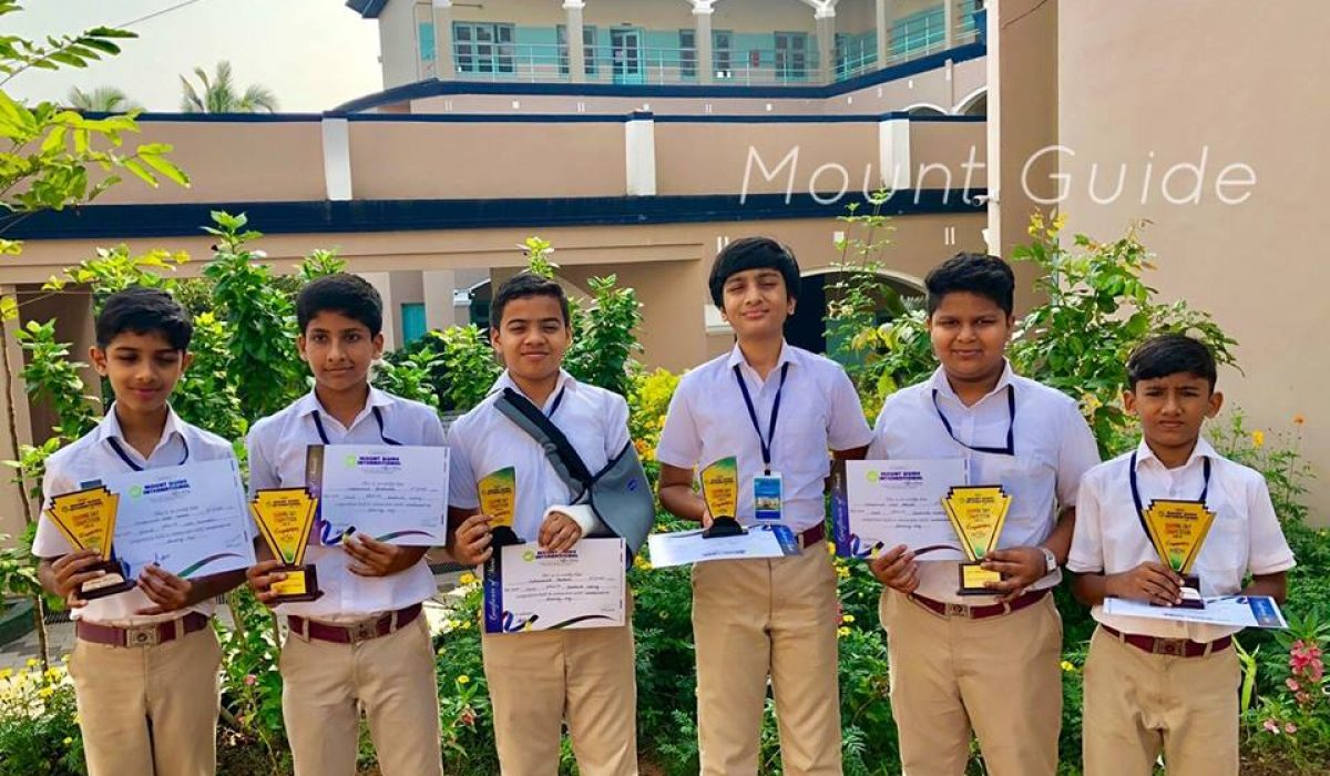 Recognized the talents of students exhibited in Cookery