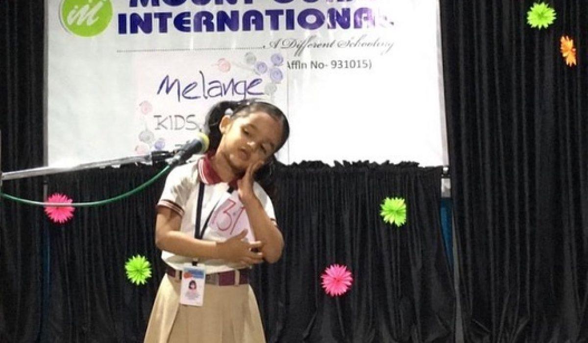 MELANGE KIDS FEST 2018-19