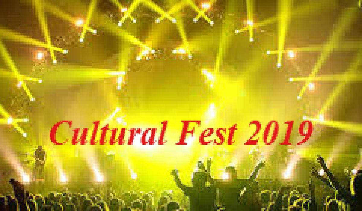 CULTURAL FEST 2019