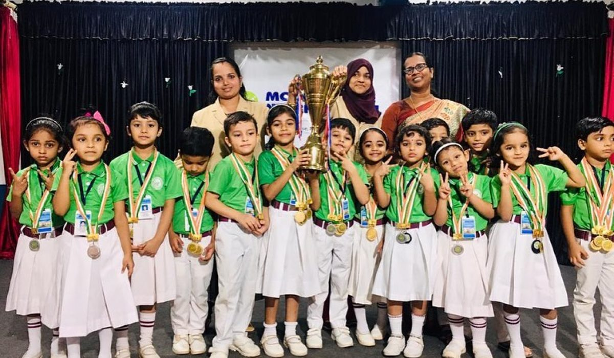 Champions of Annual Sports 2019 (KG Section)