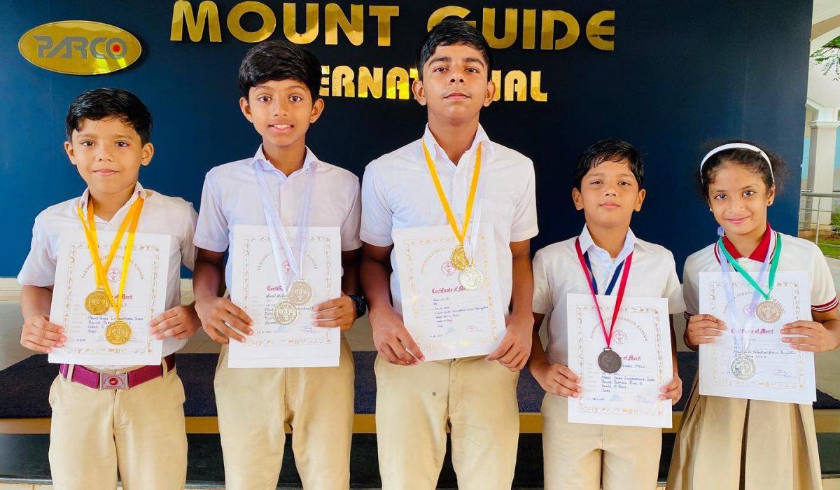 Medal Winners of Kannur Sahodaya School Complex Roller Skating Championship 2019