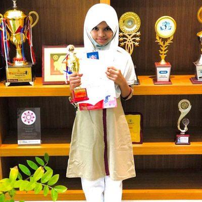 First Rank in English Language Olympiad in International level
