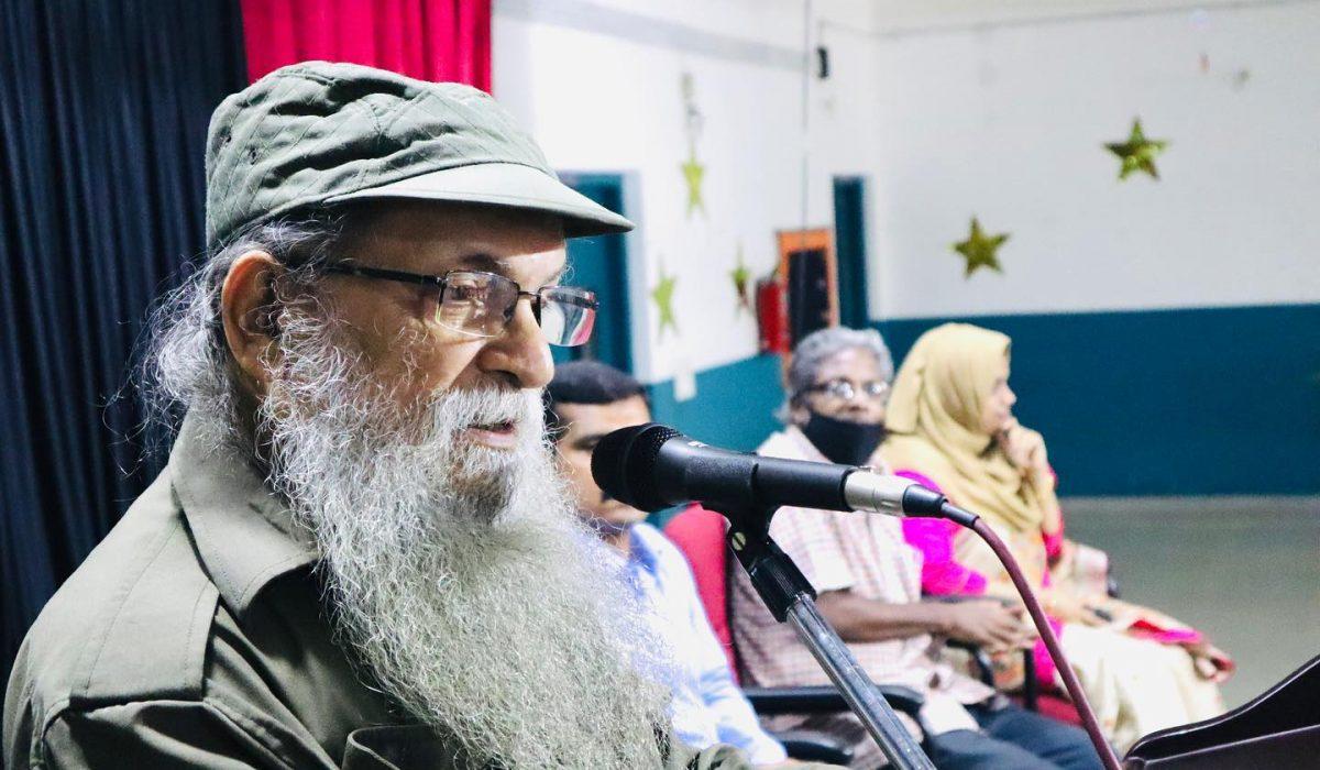 Interaction with Prof. Shobeendran, Environmental Activist
