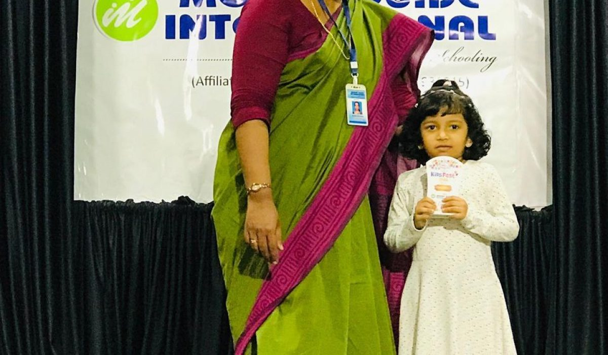 Felicitations to Little Champs : Kids Fest Winners