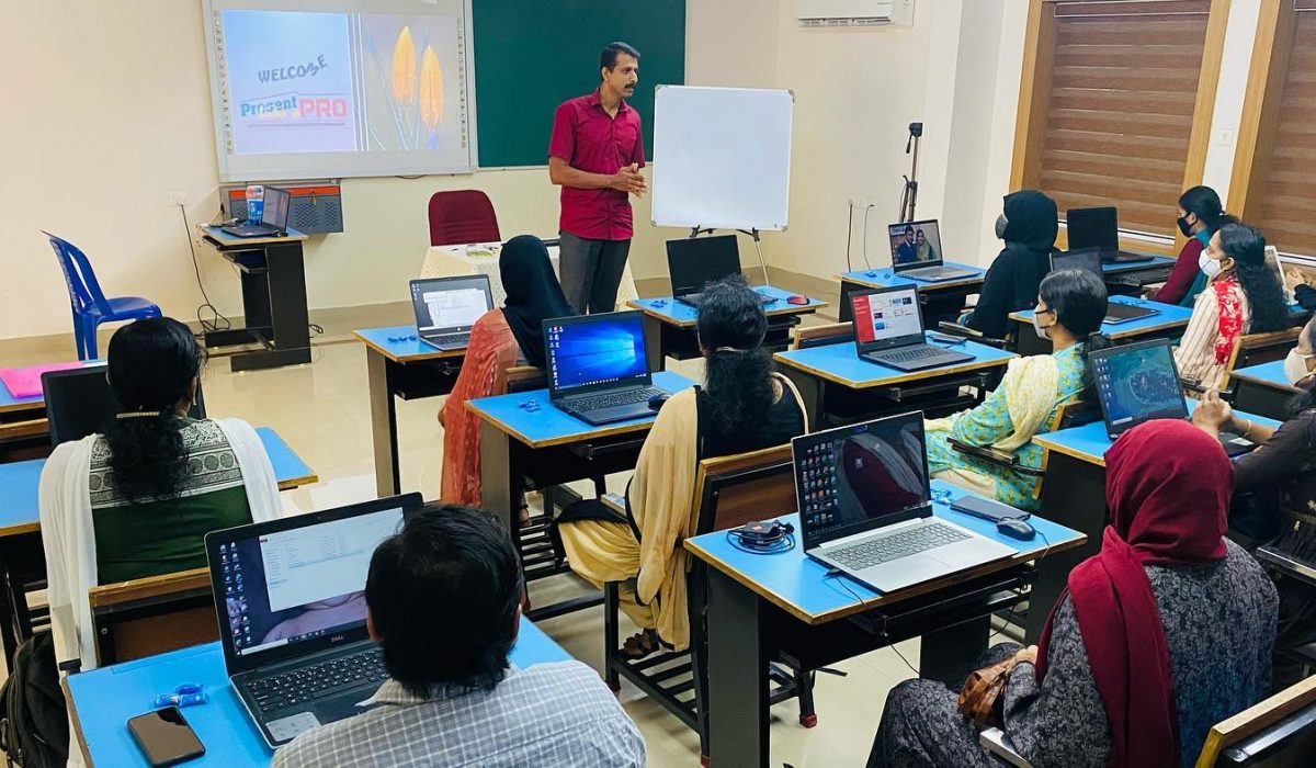 One day training programme for teachers on Digital Learning.