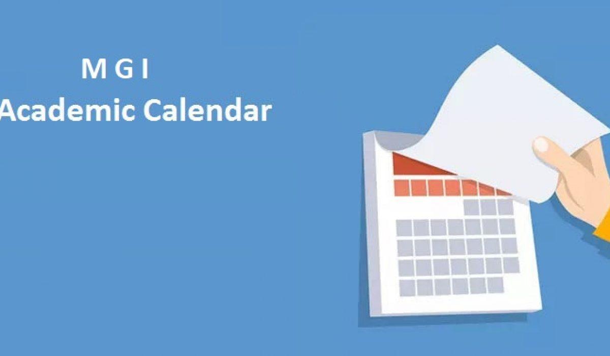 Academic Calendar 2021-22